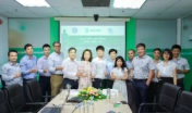 Board of Management and members of Halcom VN, GE VN and IPC Group congratulate on the success of the EPC contract signing ceremony.