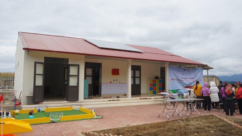 Hình ảnh phòng học mới xây